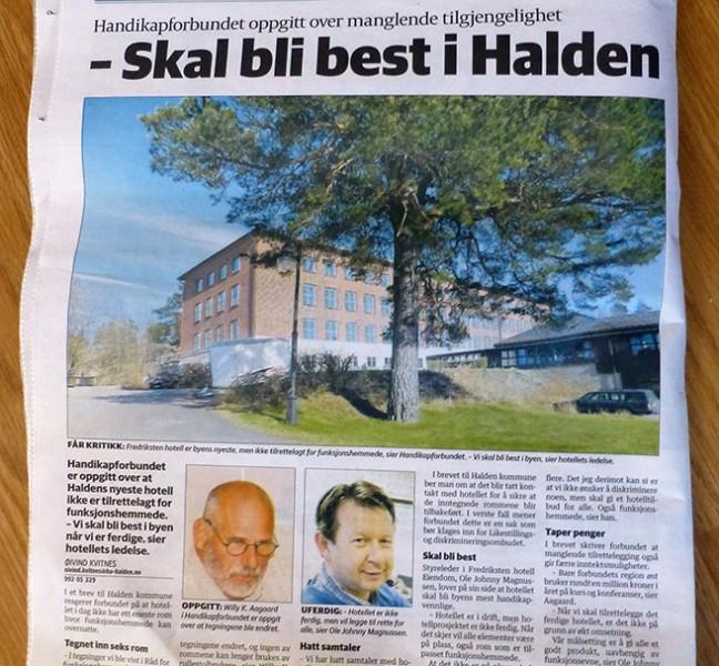 Fredriksten Hotell HA